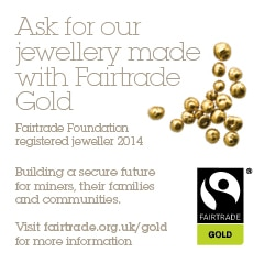 fairtrade gold for rings and jewellery home