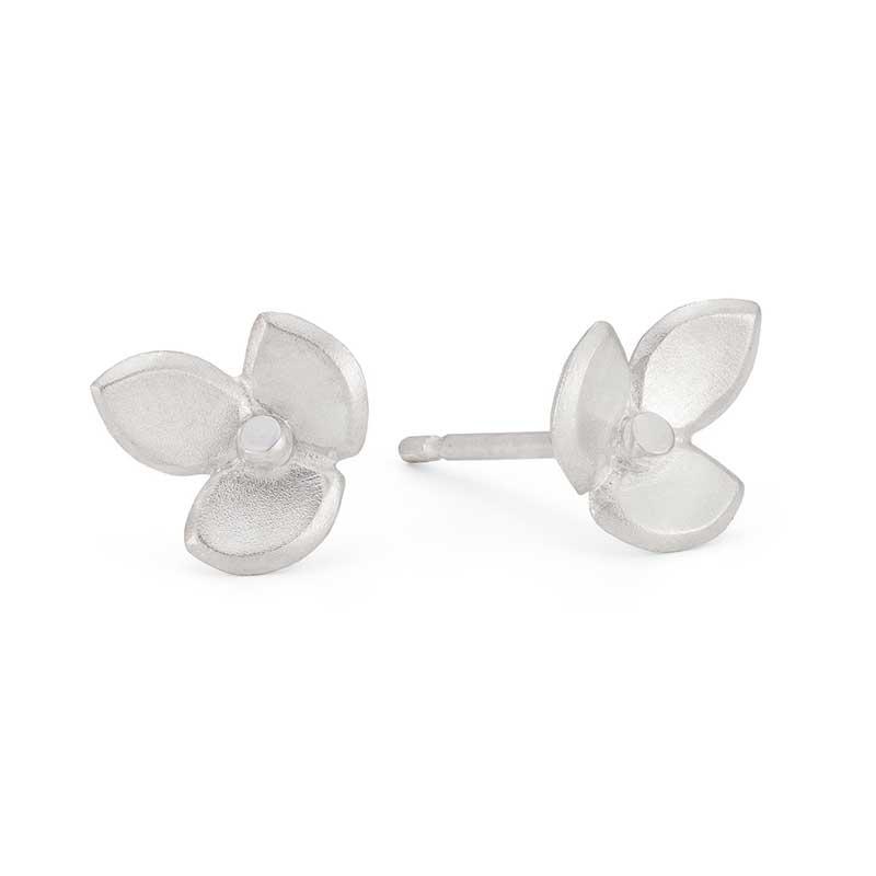Eve Silver Stud Earring Jacks Turner Designer Jewellery Bristol Uk