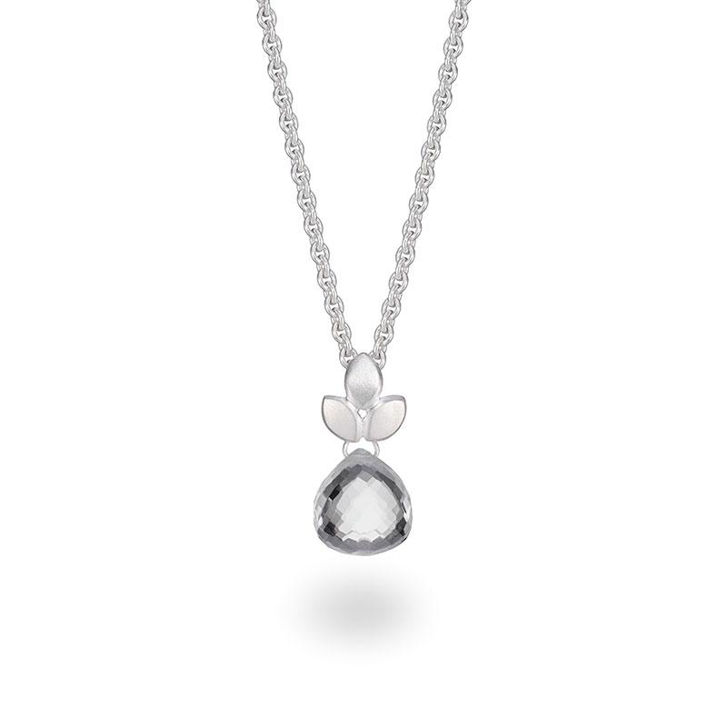 Rock Crystal Silver Necklace Jacks Turner Designer Jewellery Bristol Uk