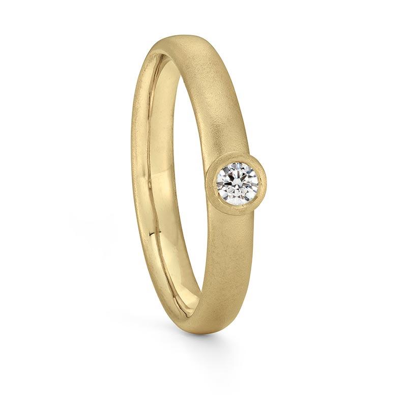Gold Diamond Ring Engagement Designed By Jacks Turner Bristol Jeweller