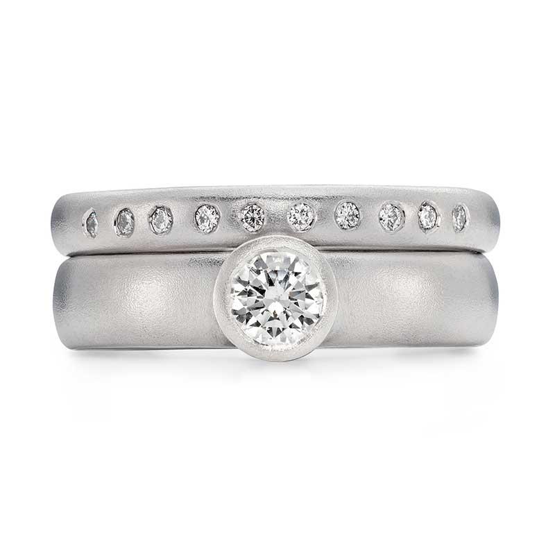 Grand Diamond Engagement Ring Platinum 10 Diamond 3Mm Wedding Ring Designed By Jacks Turner Bristol Jeweller