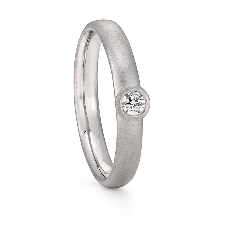 Platinum Diamond Ring Engagement Designed By Jacks Turner Bristol Jeweller