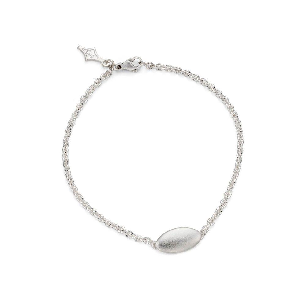 Silver Ellipse Bracelet Designed By Jacks Turner Bristol