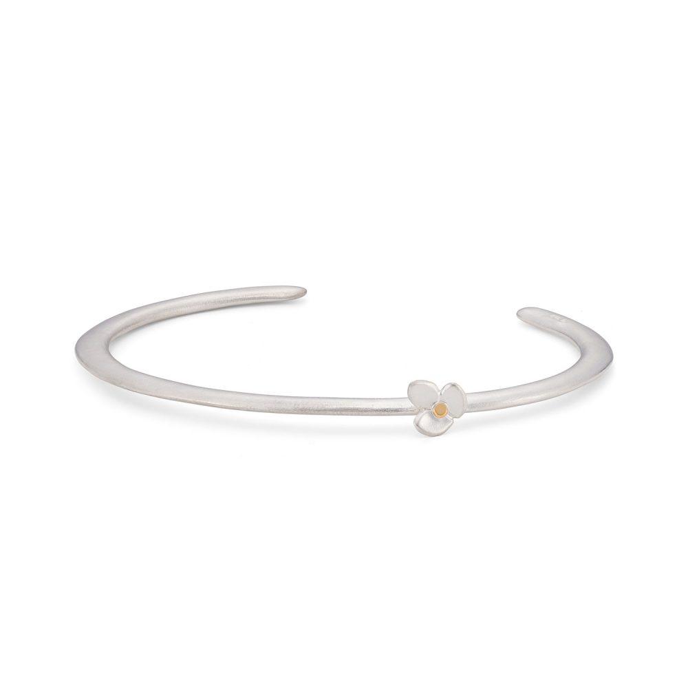Silver Gold Cuff Bracelet Jacks Turner Designer Jewellery Bristol Uk
